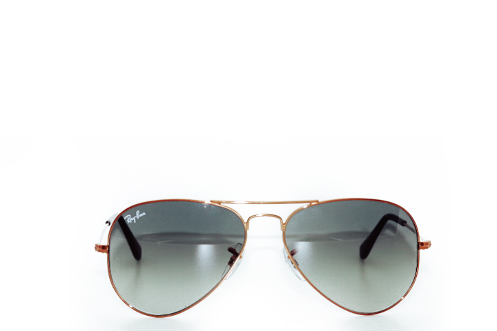 Ray Ban Aviator Brown Copper