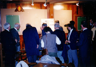 Photo: John Dugan, Jake Klassen, ?, George Carscallen, Charlie Hobbs, Gemma Kerr, Roy Beckman, Dalton McIntyre, Pierre Scott (camera), Bill McKinnon, Paul Baker, Paul Seguin
