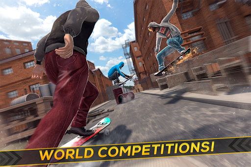 Skateboard Racing Challenge - Street Party Stunts 2.11.4 screenshots 2