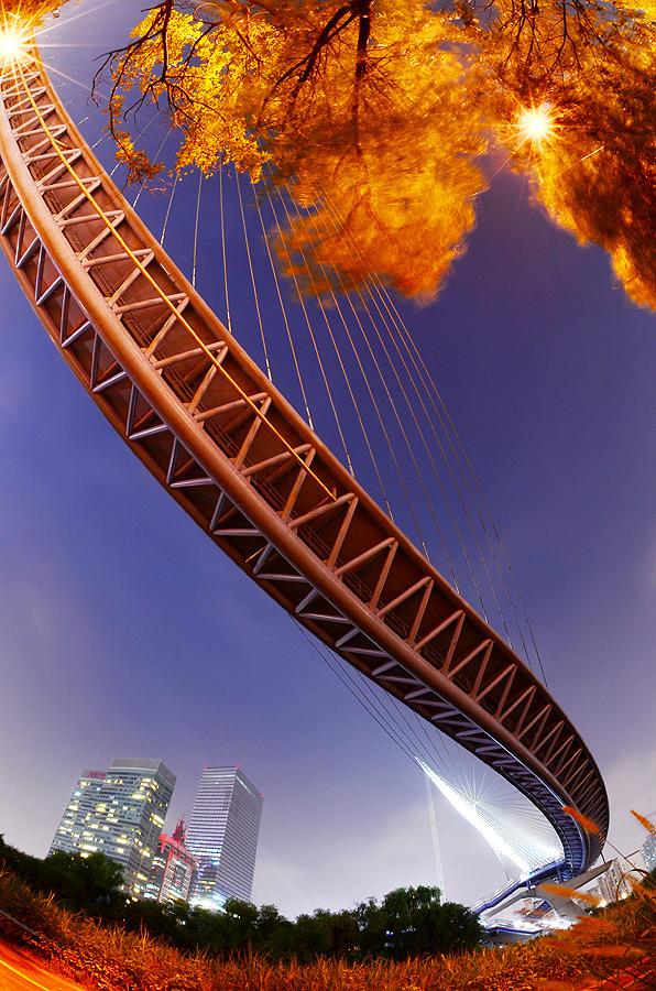 Snake Dancing Bridge. by Irwan Yosi - Buildings & Architecture Bridges & Suspended Structures