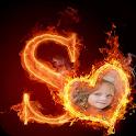 Fire Alphabet Photo Frames icon