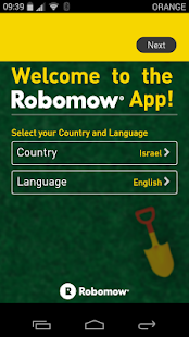 Robomow App Screenshot