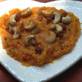 Carrot Sweet(Gajar ka Halwa.).