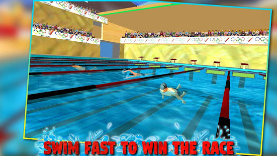 Real pool swimming water race 3d 2017 fun game apps on google play for Two player swimming pool games