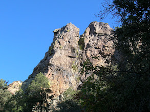 """Photo: These are the first of many volcanic """"hoo-doos"""" that give the Pinnacles Trail its name."""