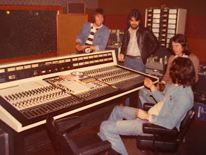 Photo: Mixing at J L's Studio
