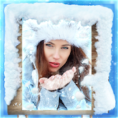 Frozen Winter Photo Frames