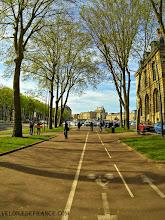 Photo: [FR] Le début de la balade avec vue sur le château de Versailles. [EN] The beginning of the ride with view on Versailles Palace.