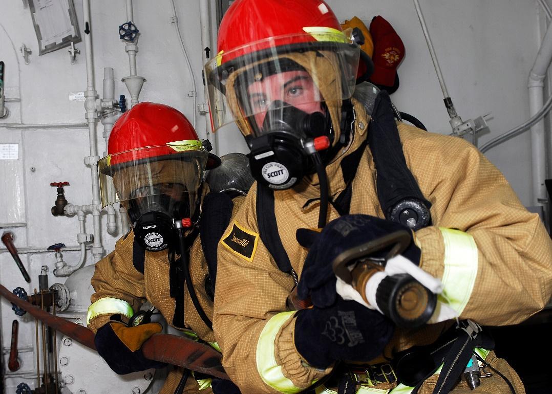 Mặt nạ phòng độc có khả năng bảo vệ con người trong môi trường khí độc