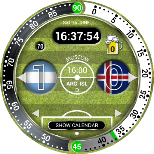 World Cup Watch Face