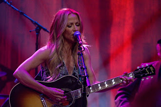 "Photo: AUSTIN, TX - APRIL 20:  Sheryl Crow performs during ""We Walk The Line: A Celebration Of The Music Of Johnny Cash"" at ACL Live on April 20, 2012 in Austin, Texas.  (Photo by Rick Kern/WireImage)"