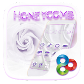 Honeycomb Go Launcher Theme