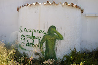 Photo: Green graffiti