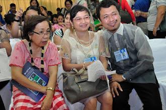 Photo: Drs. Edna Amparado, Bebot Orozco, Mike Clores