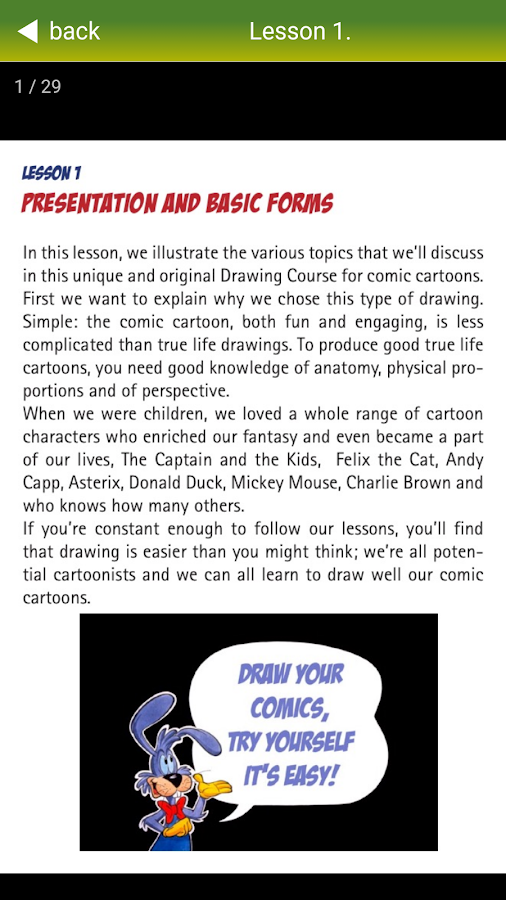 Draw your comics PRO- screenshot