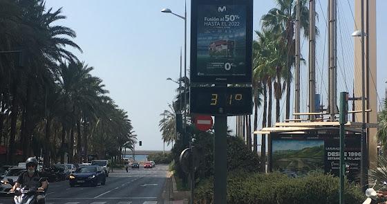 ¡Calor en otoño! Hasta 31 grados en el centro de Almería