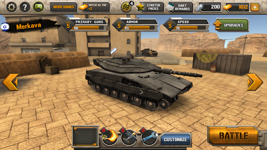 Modern Tank Force: War Hero 10