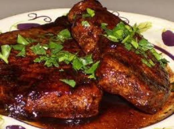 Jalapeño-balsamic Glazed Pork Chops Recipe