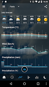 Transparent clock weather Pro V0.99.02.47 Mod APK 6