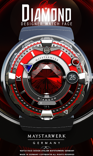 Red Diamond Watch Face