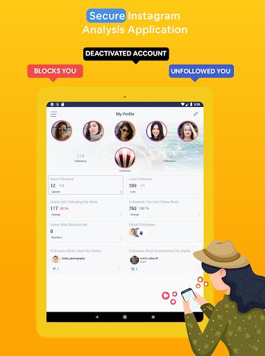 Followers & Likes Tracker for Instagram - Repost 2.9.1 Screenshots 8