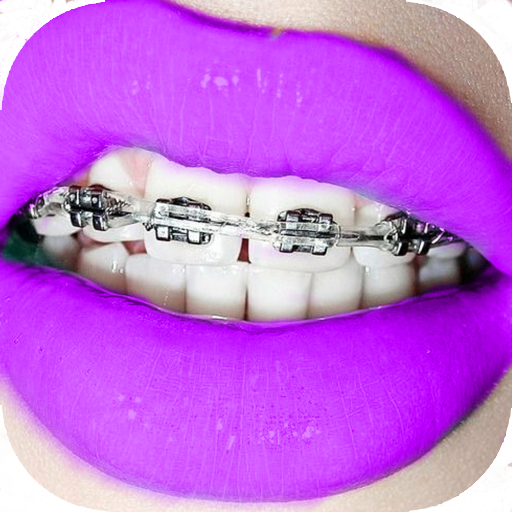 Braces on Photo Editor - Real Braces Teeth Pro