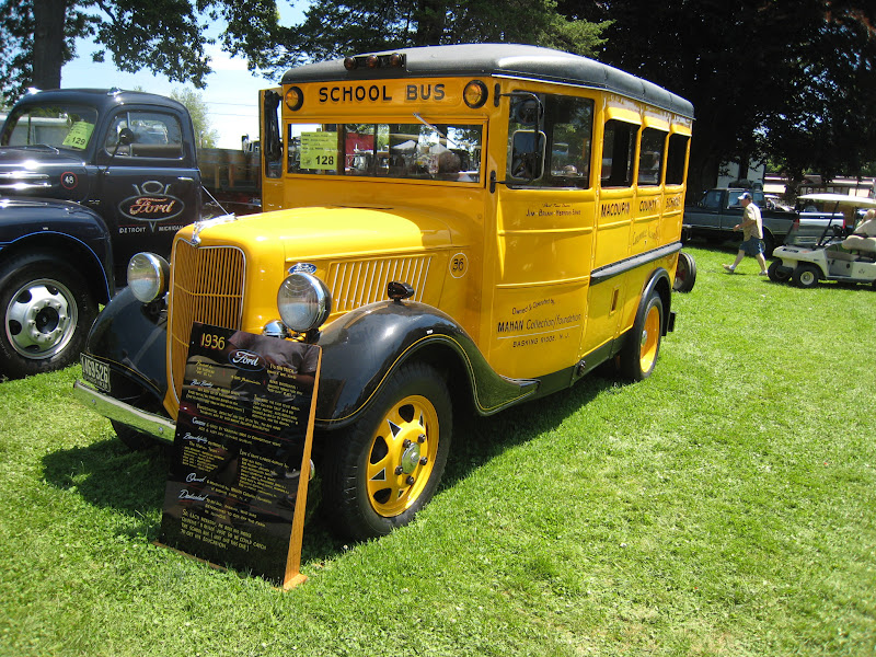 Photo: 1936 Ford School Bus. Another show-stopper.