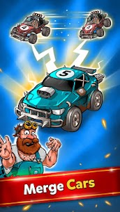 Battle Car Tycoon Idle Merge games mod 4