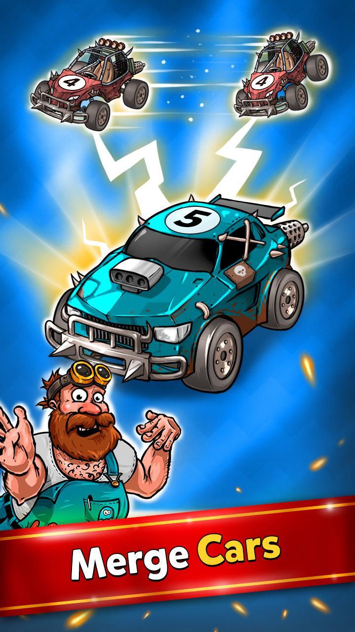Merge Battle Car Tycoon Screenshot 3
