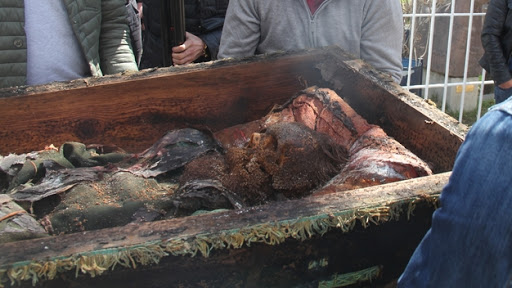 Remains of 19th century Russian discovered by construction workers