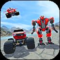 Flying Robot Simulator: Monster Truck Battle Games icon