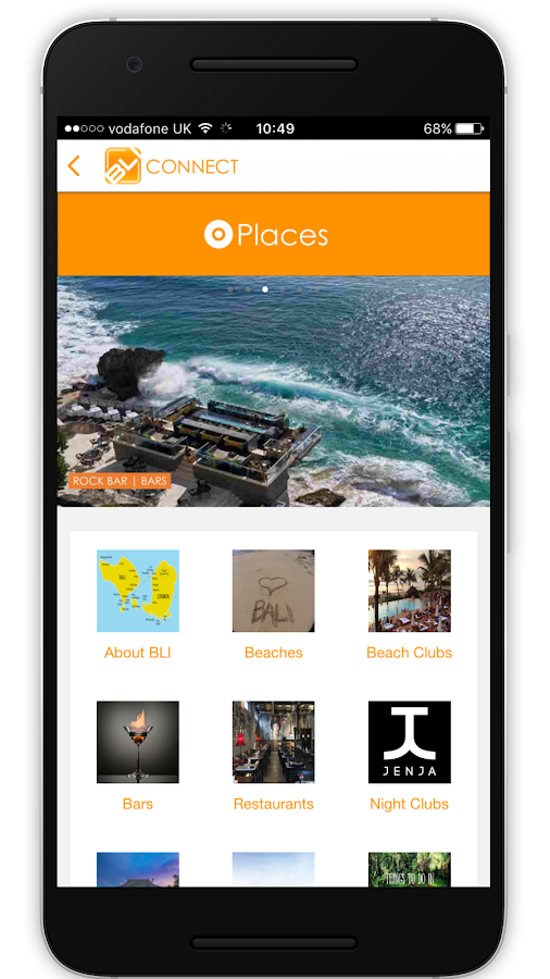 BLI Connect - Discover Bali- screenshot