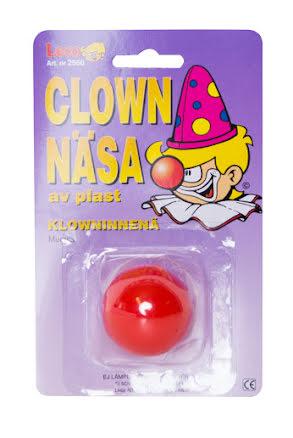 Clownnäsa, plast
