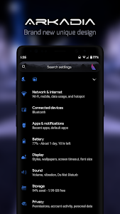 Arkadia Substratum Theme for 10|Pie|Oreo + Samsung 1.2 (Patched) (Pie)