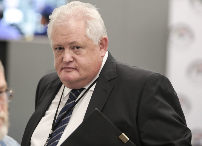 Former Bosasa executive Angelo Agrizzi