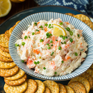Seattle Smoked Salmon Dip.