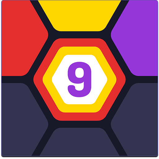 UP 9 - Hexa Puzzle! Merge Numbers to get 9 1.1.0