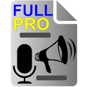 Voice to Text Text to Voice FULL PRO icon
