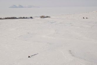 Photo: SHK - On the way to Shaktoolik