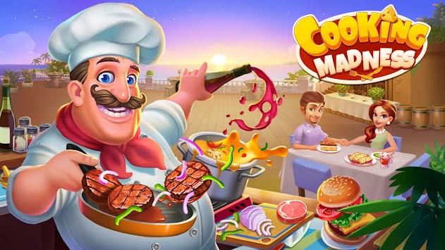 Cooking Madness - A Chef's Restaurant Games apk screenshot