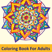 Adult Free Coloring Book : Adult Coloring Book App