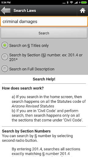 Arizona Statutes, ARS (AZ Law)  screenshots 7