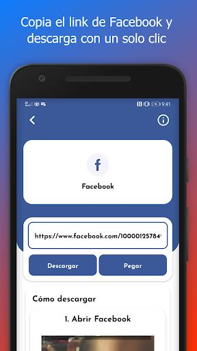 Bajar Vu00eddeos de Facebook y Redes Sociales 1.3.0 screenshots 4