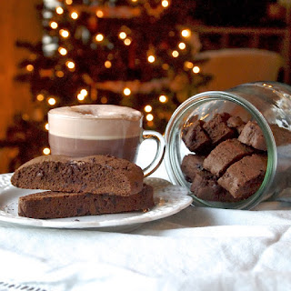 Spicy Double Chocolate Biscotti