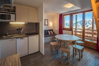 Photo: Hautes-Alpes (05) Risoul, Résidences Mona Lisa, Pollux, Appartement 962, duplex 8 personnes