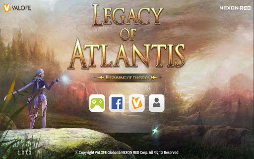 Legacy of Atlantis : Master of Heart poster