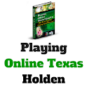 Playing Online Texas Holdem icon