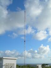 Photo: Tercera torre con otra antena tribanda