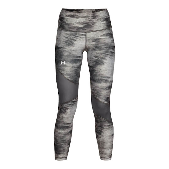Under Armour Crop Print Heatgear Legging Dam Grey Stl: XS