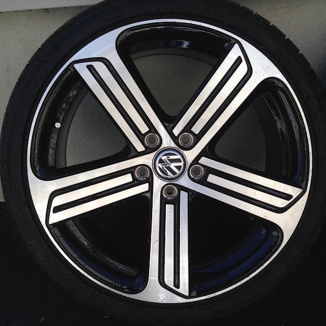 """Bridgestone Potenza Re050A >> VWVortex.com - Mk7 2015 VW Golf R Cadiz 19"""" Wheels/Tires ..."""